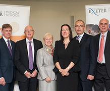 L-R Dr Tim Burke, Dr Mike Bewick (NHS England), Prof Jean McEwan, Prof Janice Ky, Prof John Campbell, Prof David Mant