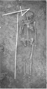 The female grave in Enisala (photo by S. Ailincăi) (Ailincăi et al., 2014)