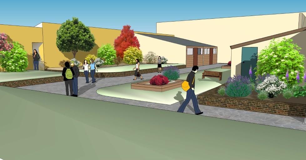 The design for the Diamond Jubilee International Garden
