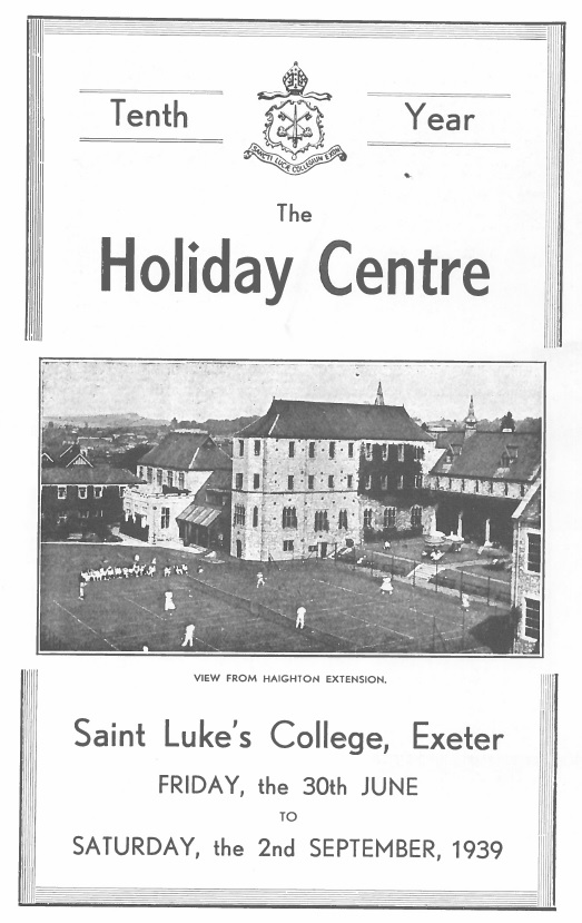 St Lukes holiday centre