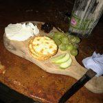 Yummy Cheese & Fruit Board