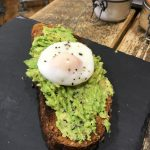 Avocado Toast with a Poached Egg