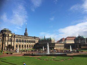 Dresden Zwinger- Copyright Camilla Owens