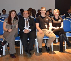 ICSAE Team with one of the sponsors