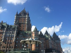 Photo of Chateau Frontenac in Quebec City