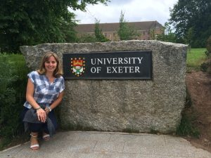 Aimee Middlemiss- on the day aimee got the PhD offer
