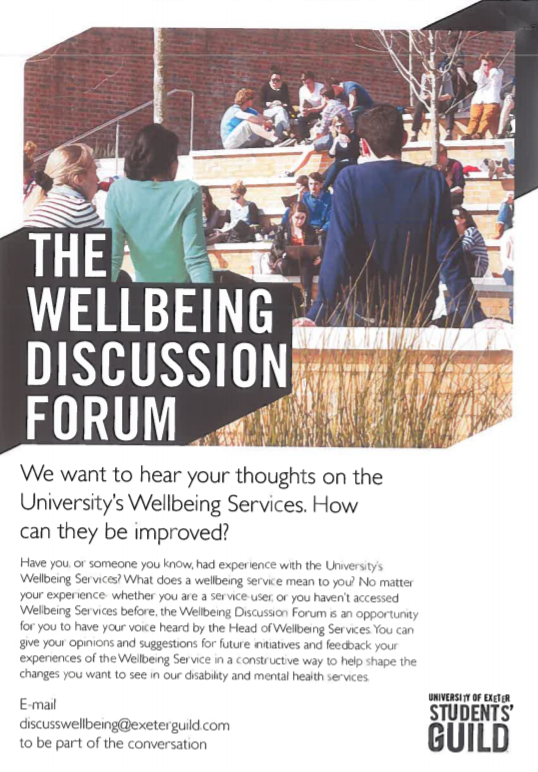 Wellbeing Discussion Forum | The Doctoral College Blog