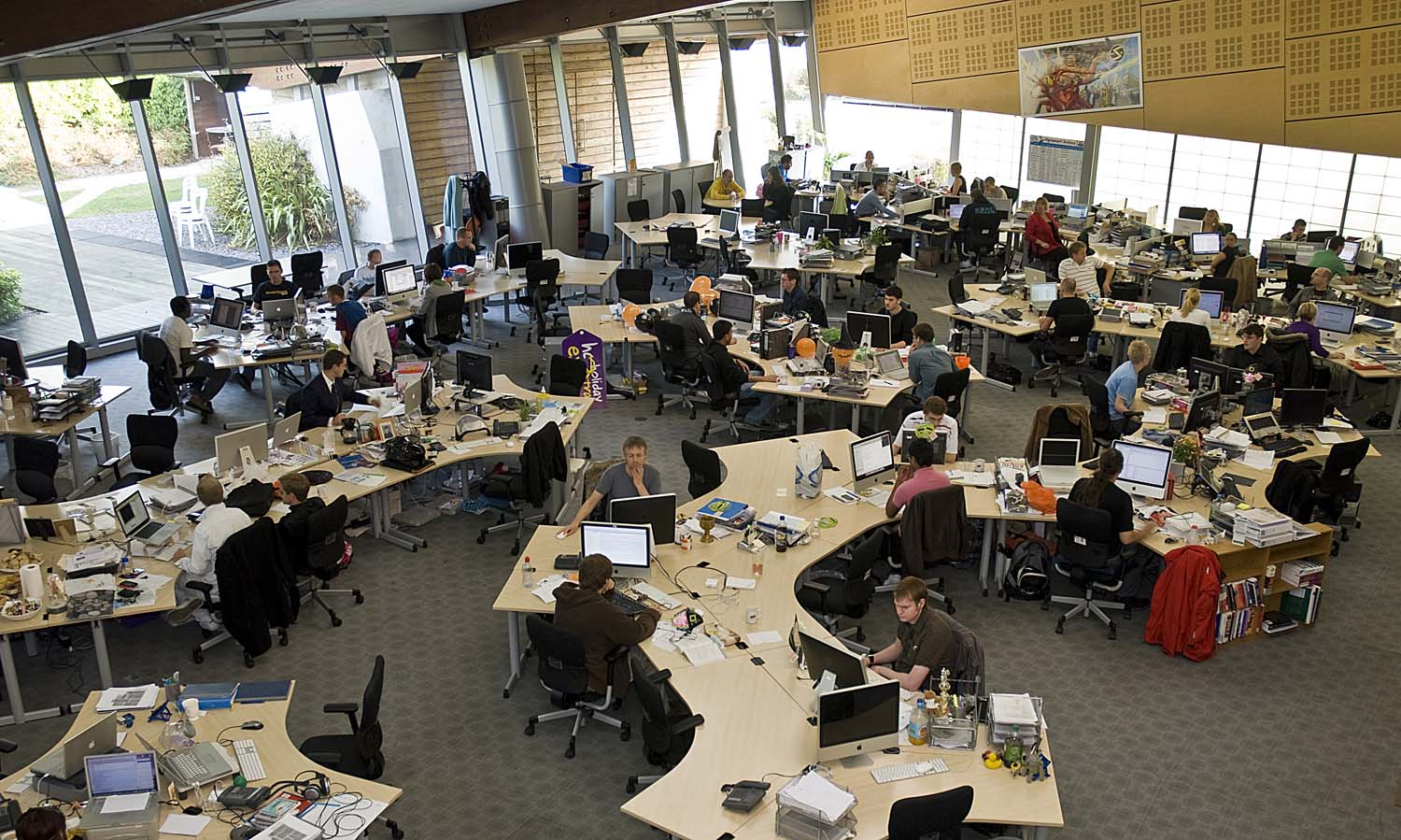 Indoor Plant Design Not A Smarter Workplace But A Smarter Worker The Exeter