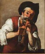 Bernardo Strozzi (Gênes, 1581/1582-Venise, 1644) Le Joueur de piffero (Il Pifferaio) Gênes, Galleria di Palazzo Rosso © Musei di Strada Nuova