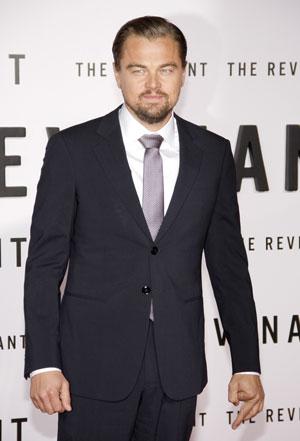 Leonardo DiCaprio - image courtesy of shutterstock