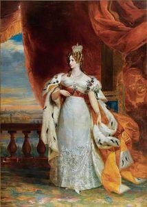 Painting of Empress Aleksandra Federovna