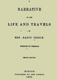 Book cover: The Life and Travels of Mrs Nancy Prince