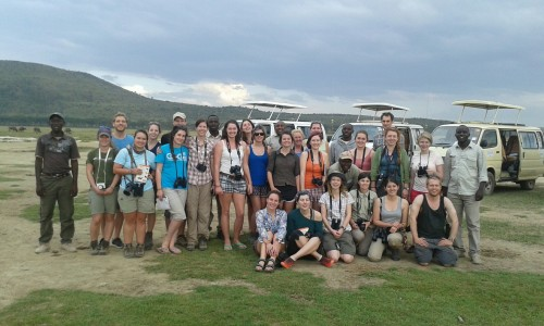 Conservation Science and Policy Kenya field trip: Class of 2015, Lake Nakuru