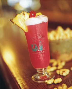 Enjoy a Singapore Sling at the famous Raffles Hotel