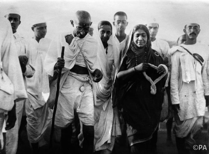 MAHATMA GANDHI : SALT LAWS 1930