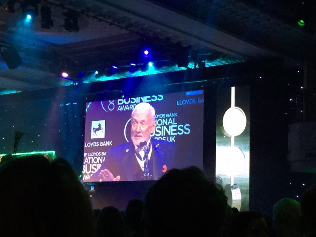 Buzz Aldrin, the second man on The Moon, in full speech about why we should go to Mars!