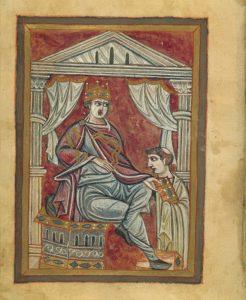 Otto III Prayerbook, Munich, Bayerische Staatsbibliothek, Clm 30111, f. 90r
