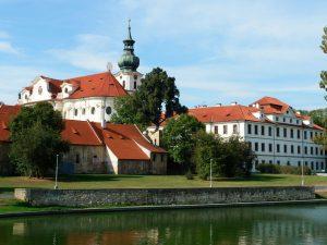 Brevnov monastery, Prague, founded 993