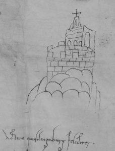 Quedlinburg Abbey: a tenth-century depiction