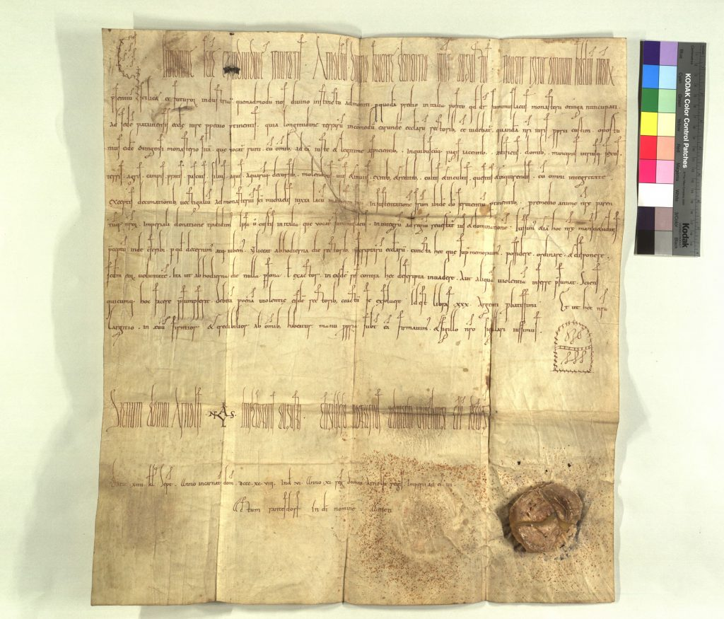 D Arn 161: forged by Pilgrim of Passau