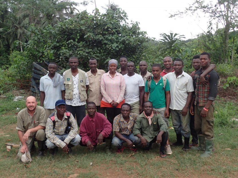 Ankasa Census Team - Ghana